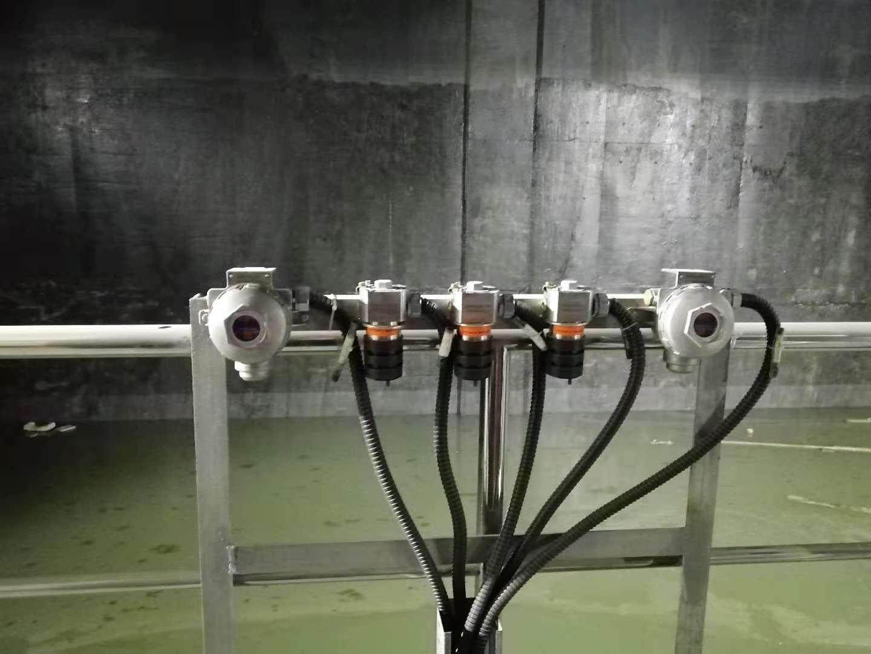 科尔康为中国南方某垃圾渗滤液池设计的气体监测方案