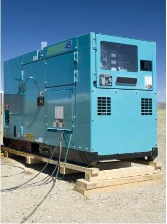 集装箱型发电机组:在线气体检测